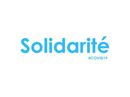 Renforcer les solidarités lors du coronavirus : Les mesures pour lutter contre la crise.
