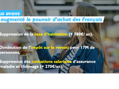 2017-2020 : 3 ANS D'ACTION AUPRÈS DES FRANÇAIS