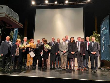 Cérémonie des vœux de Carentan-les-marais et de la communauté de communes de la Baie du Cotentin