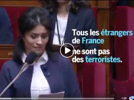 Le Monde : Intervention de Sonia Krimi à l'Assemblée nationale