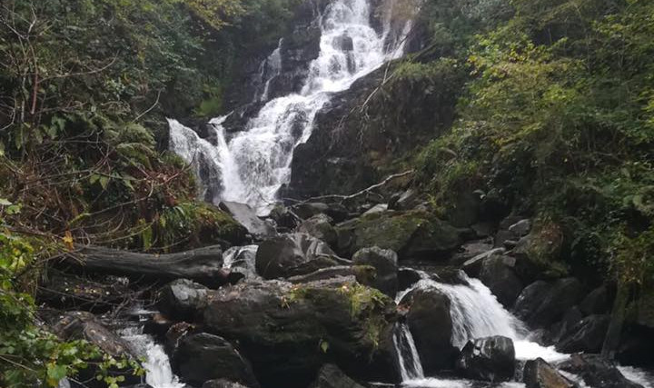 Torc waterfall Kilarney