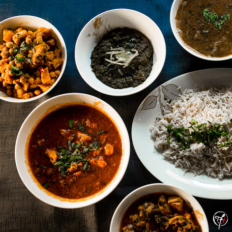 Home Cooked Curries