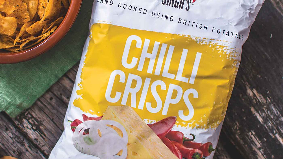 3 Bundle Pack -Mr Singh's Chilli, Cheese and Onion | 40g bag |