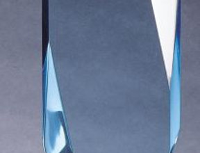"LUCIDE AWARD BLUE 5"" X 10 1/2"""