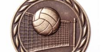 "Standard 2"" Volleyball Bronze Medals"