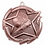 "Thumbnail: Star 2"" Bronze Soccer Medals"
