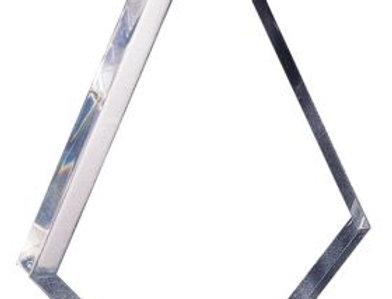 Acrylic Clear Triangle