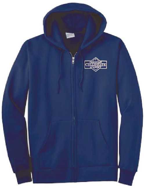 Youth CCA Full Zip Hoodie