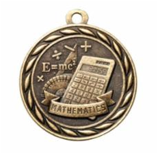 "Standard 2"" Gold Mathematics Medal"