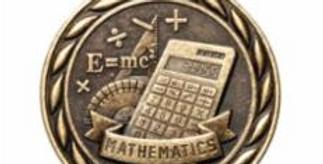 """Standard 2"""" Gold Mathematics Medal"""