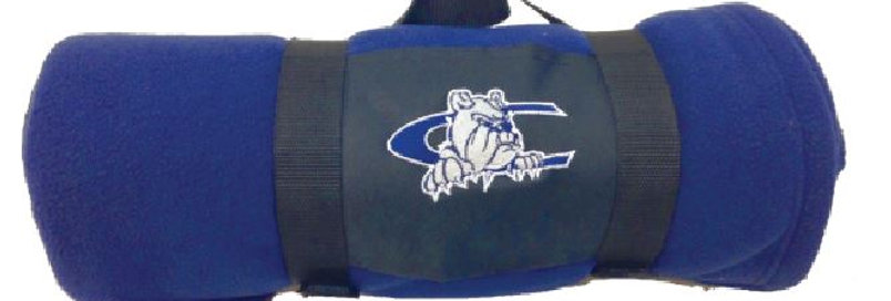CCA Fleece Blanket With Carry Strap