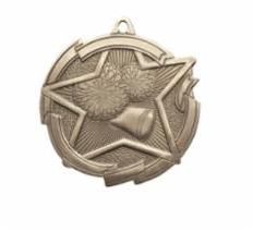 "Star 2"" Cheer Gold Medals"