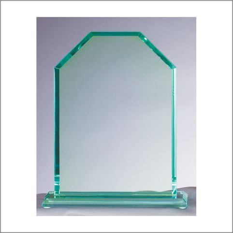 """GLASS CORNERSTONE PLAQUE 1 6"""""""