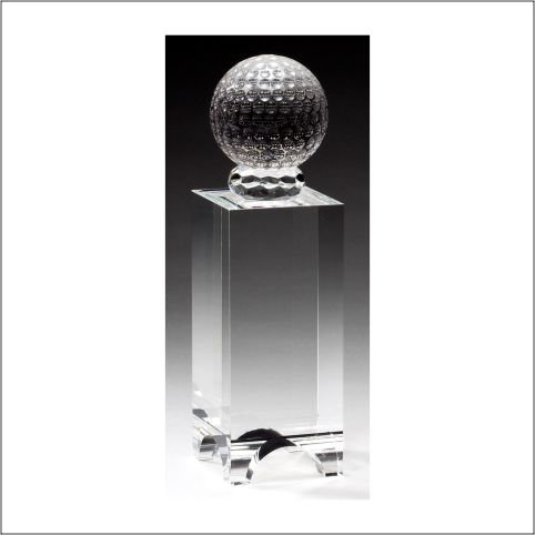 CRYSTAL GOLF BALL Stand