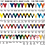 """Thumbnail: Red/Blue Die Cast 2"""" Gold Baseball Medals"""