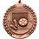 "Thumbnail: Standard Die Cast 2 3/4"" Bronze Soccer Medals"