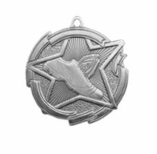 """Star 2"""" Track Silver Medals"""