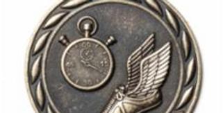 """Standard 2"""" Track Gold Medals"""