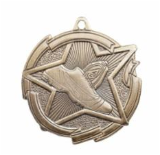 """Star 2"""" Track Gold Medals"""