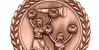 """Standard Die Cast """"2 3/4 Bronze Medals"""