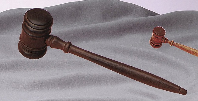MENS GAVEL PREMIUM WALNUT 10 1/2""