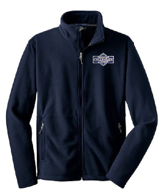 Adult CCA Fleece Jacket Ladies Cut