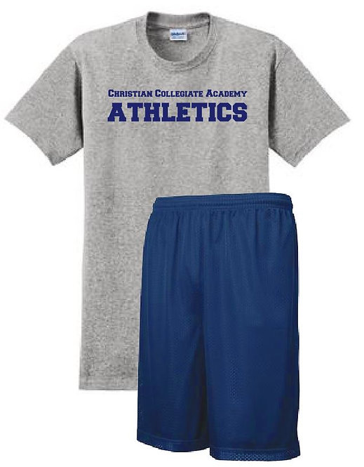 Adult CCA PE Uniform Shorts