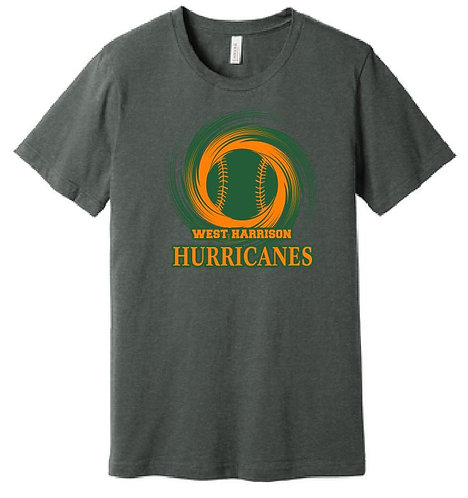 Bella Canvas Soft Style T-Shirt Hurricane Design