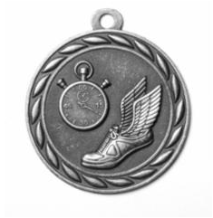 """Standard 2"""" Track Silver Medals"""
