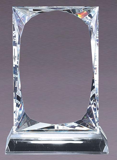 Crystal Bevel Plaque