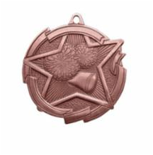 "Star 2"" Cheer Bronze Medals"