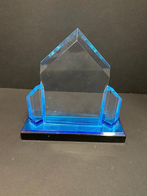 Acrylic Award Blue House