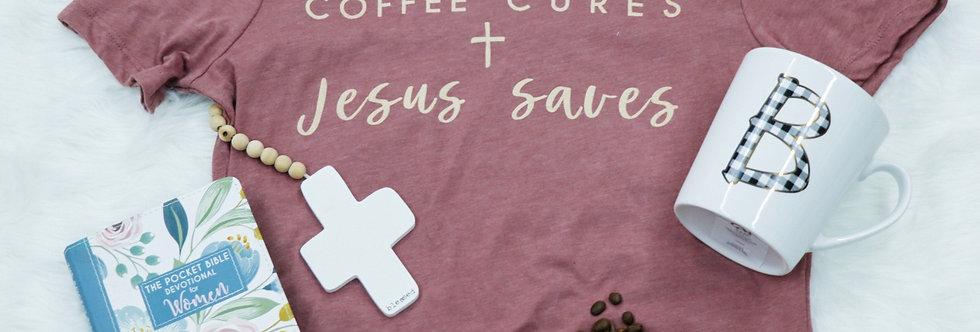 """""""Coffee + Jesus"""" Shirt Package"""