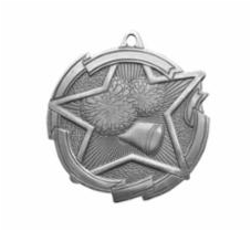 "Star 2"" Cheer Silver Medals"