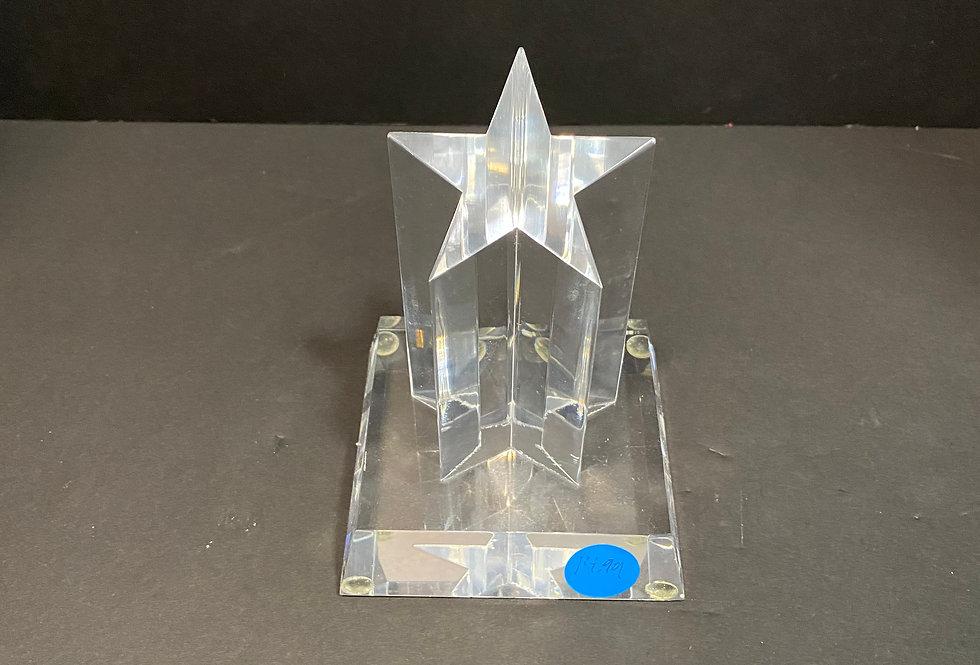 Single Star Acrylic Award DT209