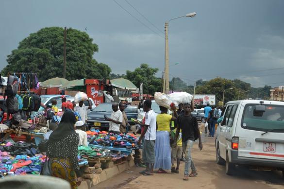 Markt an der Straße