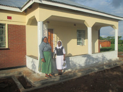 Fertiges Hostel mit Ordensschwestern