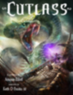 The Cover Page for the Cutlass Graphic Novel