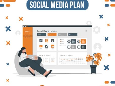 Como elaborar un social media plan