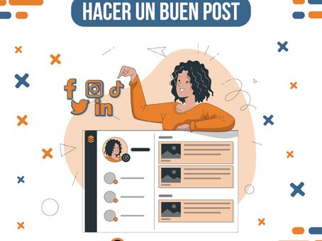 Consejos para hacer un buen post