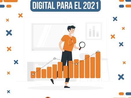 5 Tendencias del marketing digital para el 2021