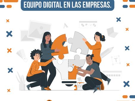 La importancia de un equipo digital en las empresas
