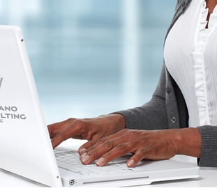AdobeStock African American Typing 1 wit