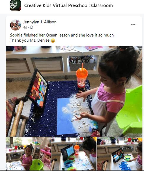 creative kids online preschool