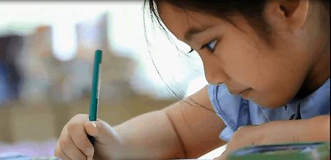 virtual preschool online preschool learning girl painting