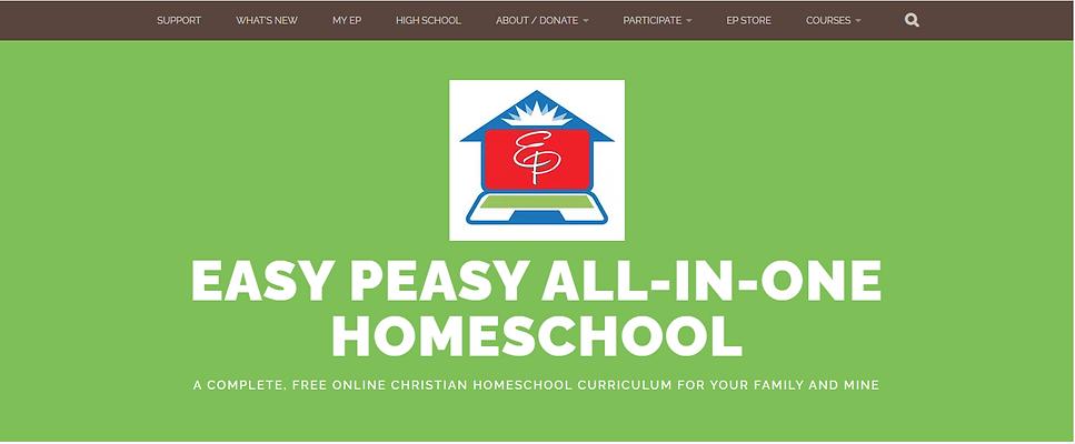 Virtual Preschool FREE Easy Peesy All In