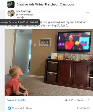 virtual preschool