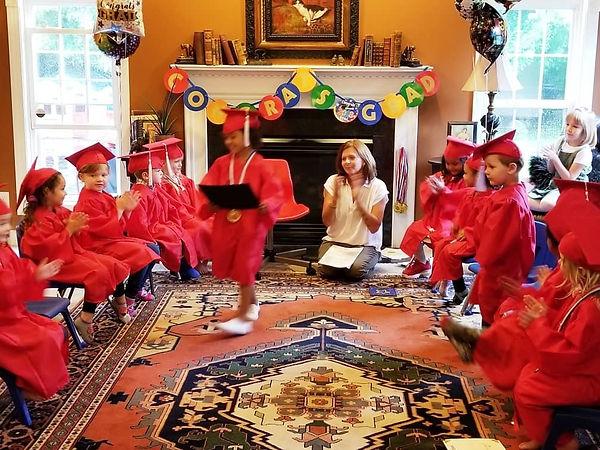 Preschool Fredericksburg Virginia graduation 2021