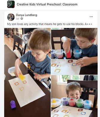 online preschool activities