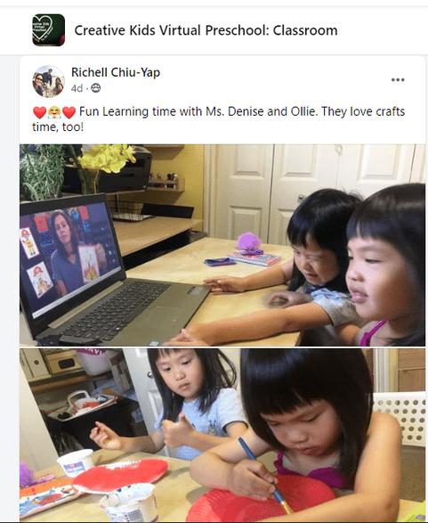 virtual preschool theme based lessons